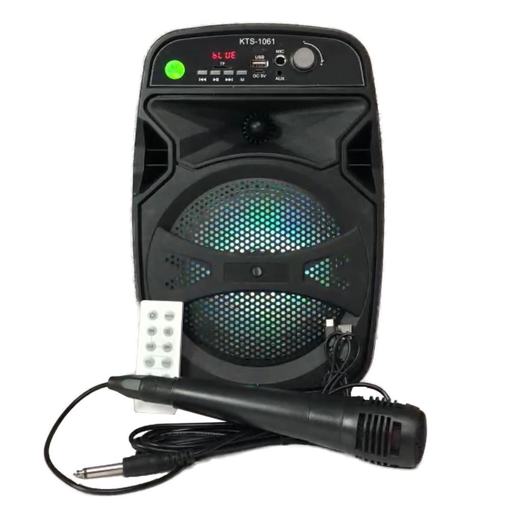 Mikrofonlu Taşınabilir Hoparlör Ses Sistemi Toplantı Anfisi