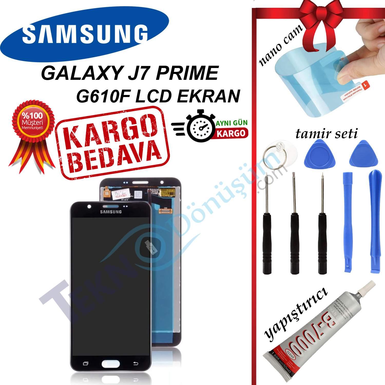 SAMSUNG J7 PRİME LCD DOKUNMATİK EKRAN ORJİNAL REVİZE