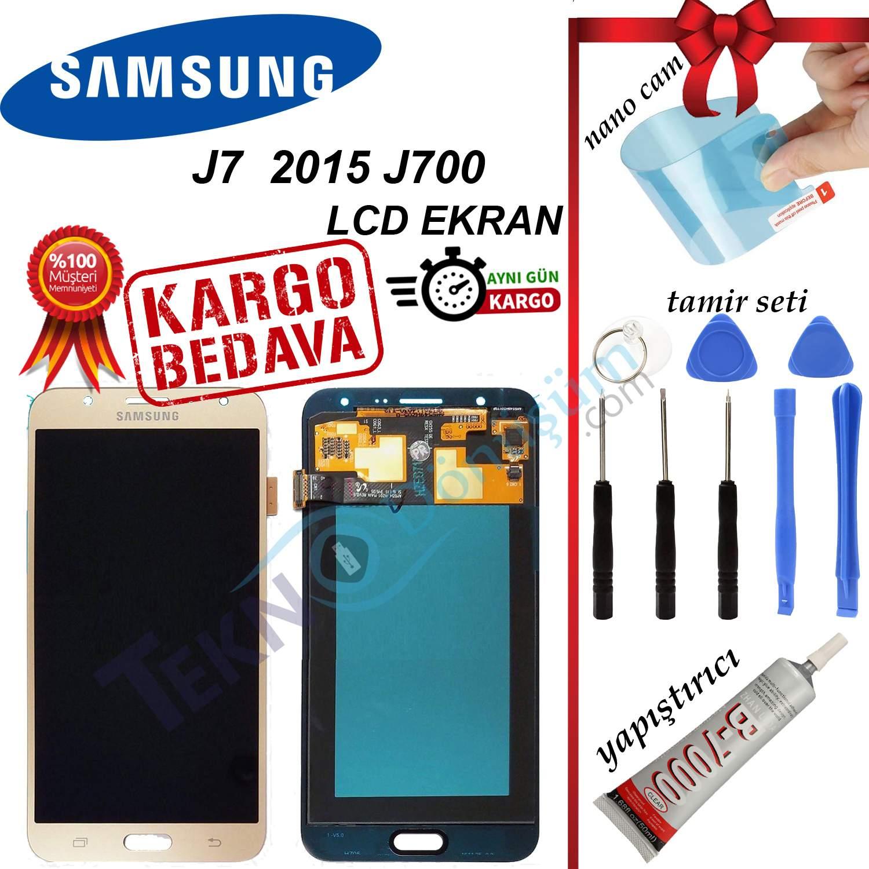 SAMSUNG J7 2015 J700 LCD DOKUNMATİK EKRAN A KALİTE TFT