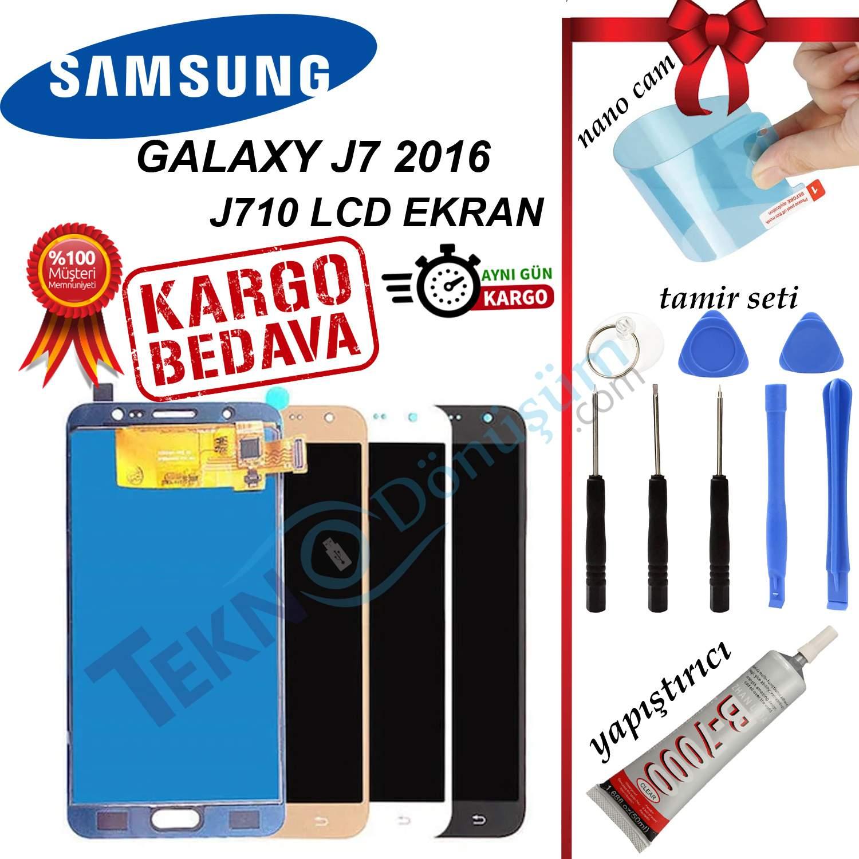 SAMSUNG J7 2016 J710 LCD DOKUNMATİK EKRAN ORJİNAL REVİZE