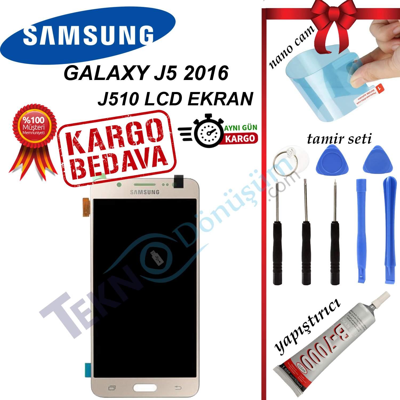 SAMSUNG J5 2016 (J510) LCD DOKUNMATİK EKRAN ORJİNAL REVİZE