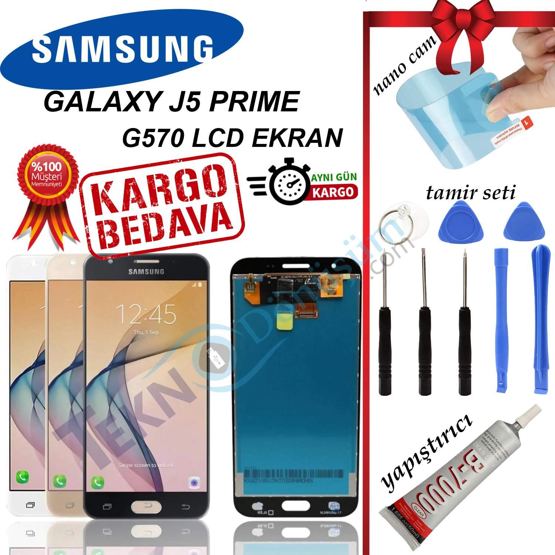 SAMSUNG J5 PRİME (G570) LCD DOKUNMATİK EKRAN ORJİNAL REVİZE