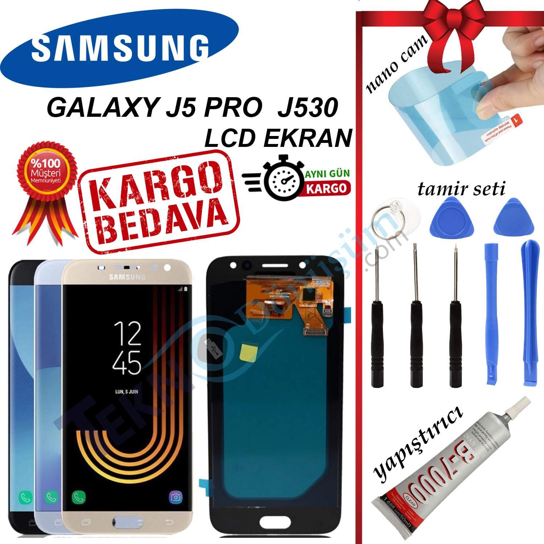 SAMSUNG J5 PRO (J530) LCD DOKUNMATİK EKRAN ORJİNAL REVİZE
