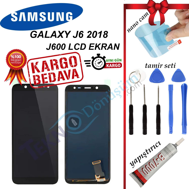 SAMSUNG J6 2018 J600 LCD DOKUNMATİK EKRAN ORJİNAL REVİZE