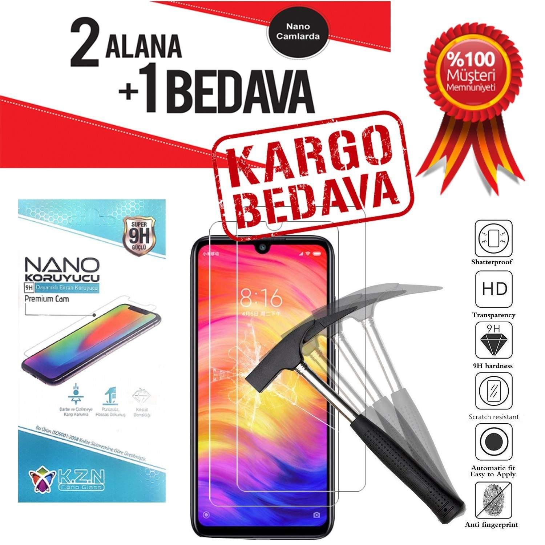 LENOVO K5 Play Nano Cam Kırılmaz Cam Ekran Koruyucu 9H