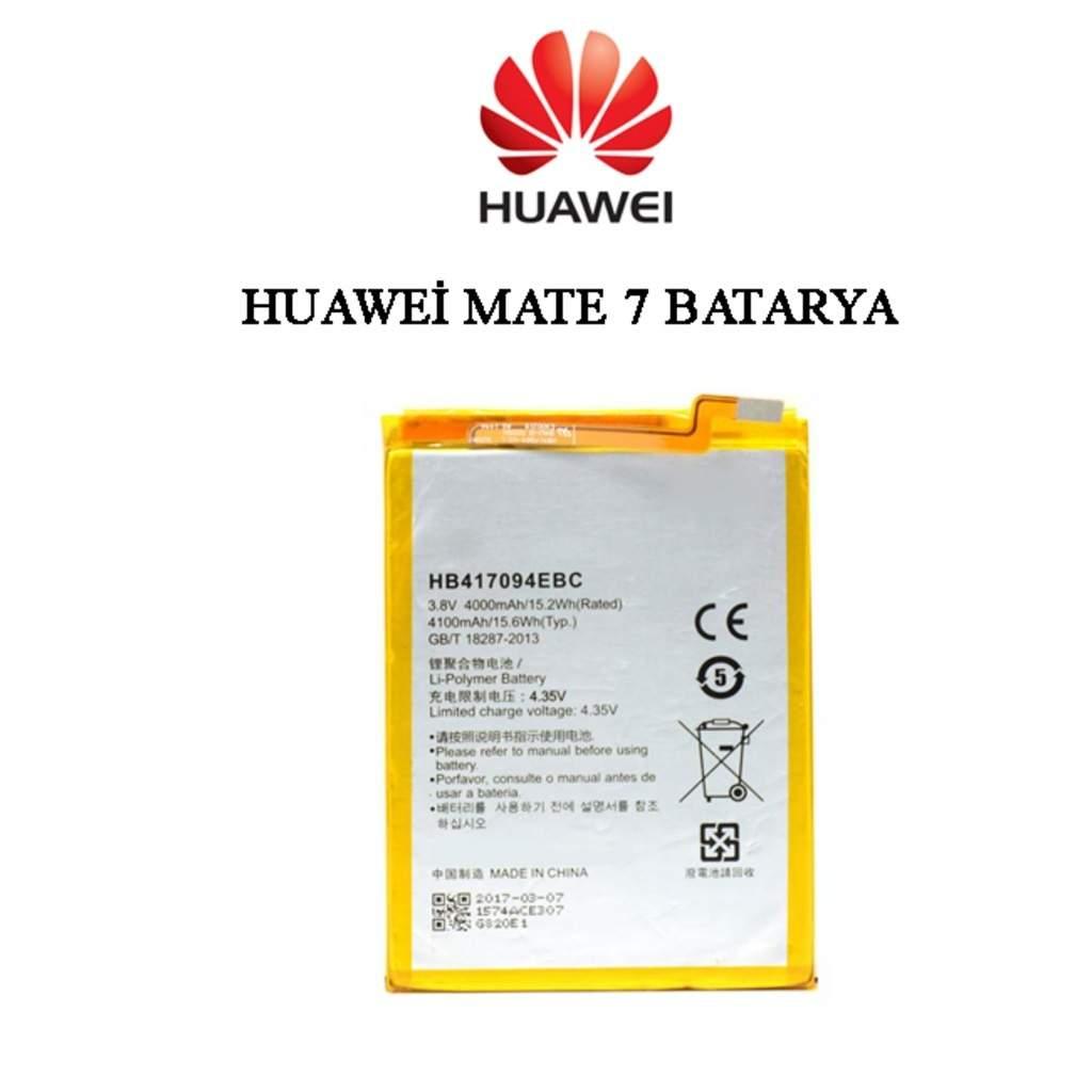 Huawei Mate 7 HB417094EBC Orijinal Batarya Pil