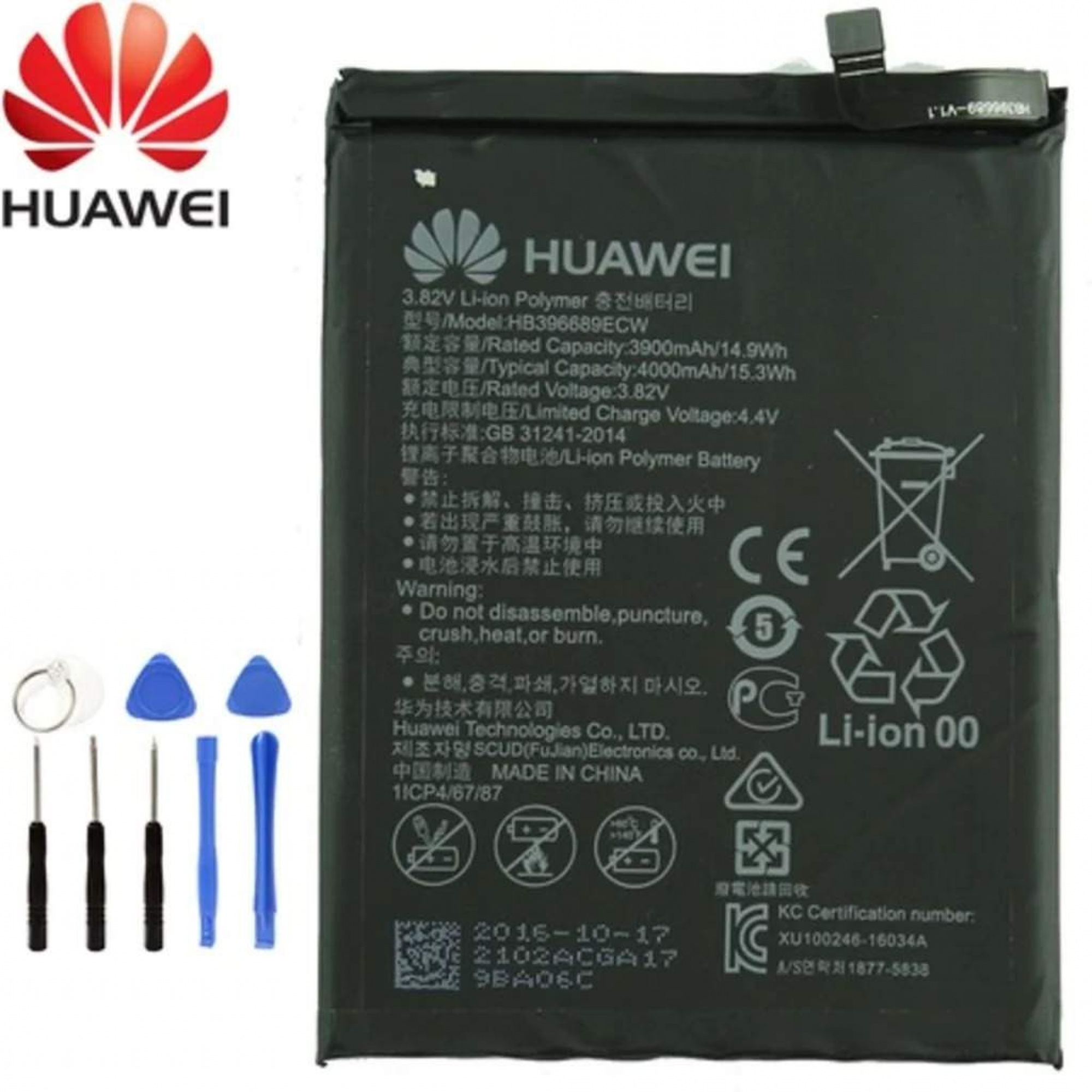 Huawei Mate 9 HB396689ECW Orjinal Batarya Pil