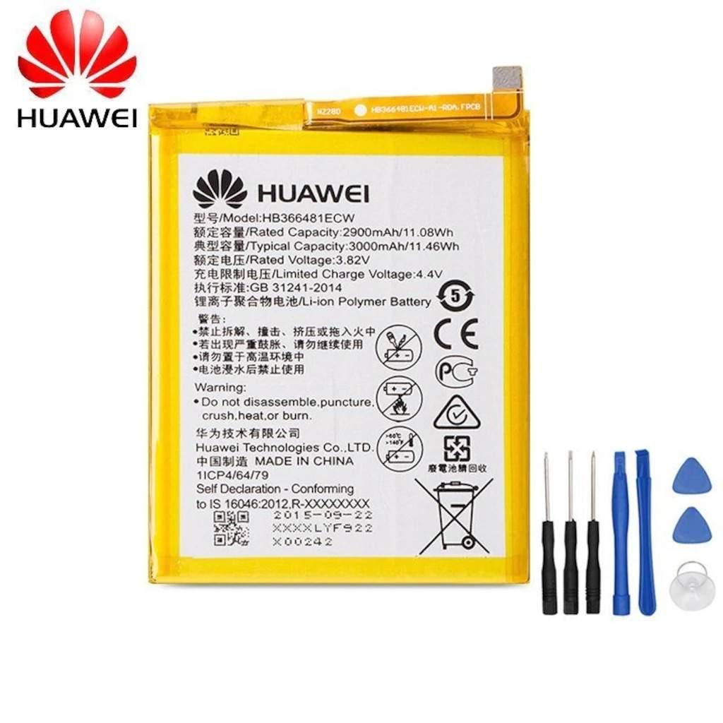 Huawei P9 HB366481ECW Orjinal Batarya Pil