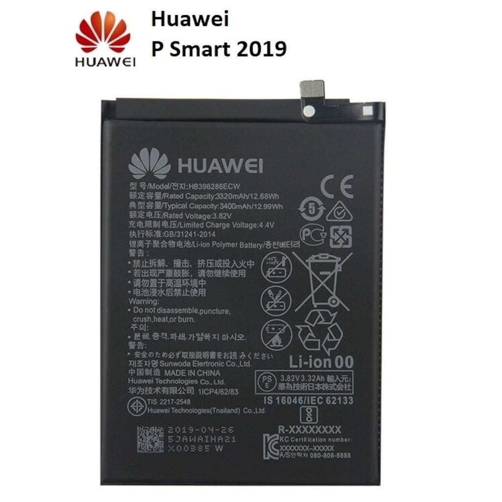 Huawei P Smart 2019 HB396286ECW Orjinal Batarya Pil