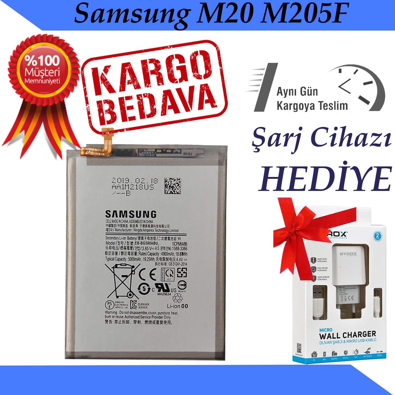 Samsung Galaxy M20 M205F Orjinal Batarya Pil