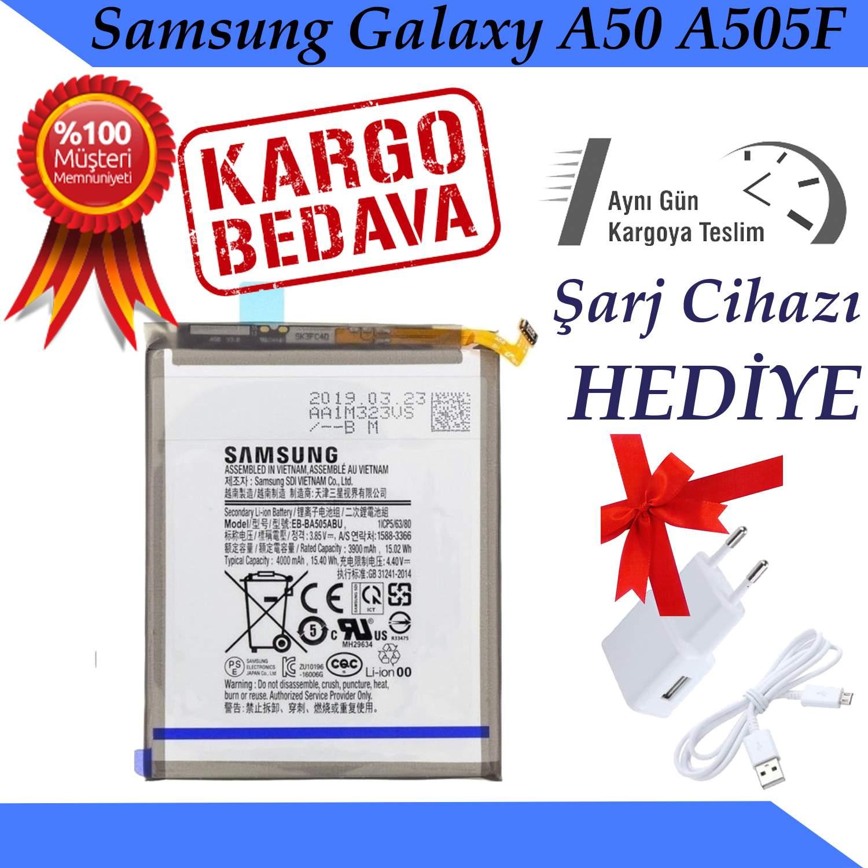 Samsung Galaxy A50 A505F Orjinal Batarya Pil