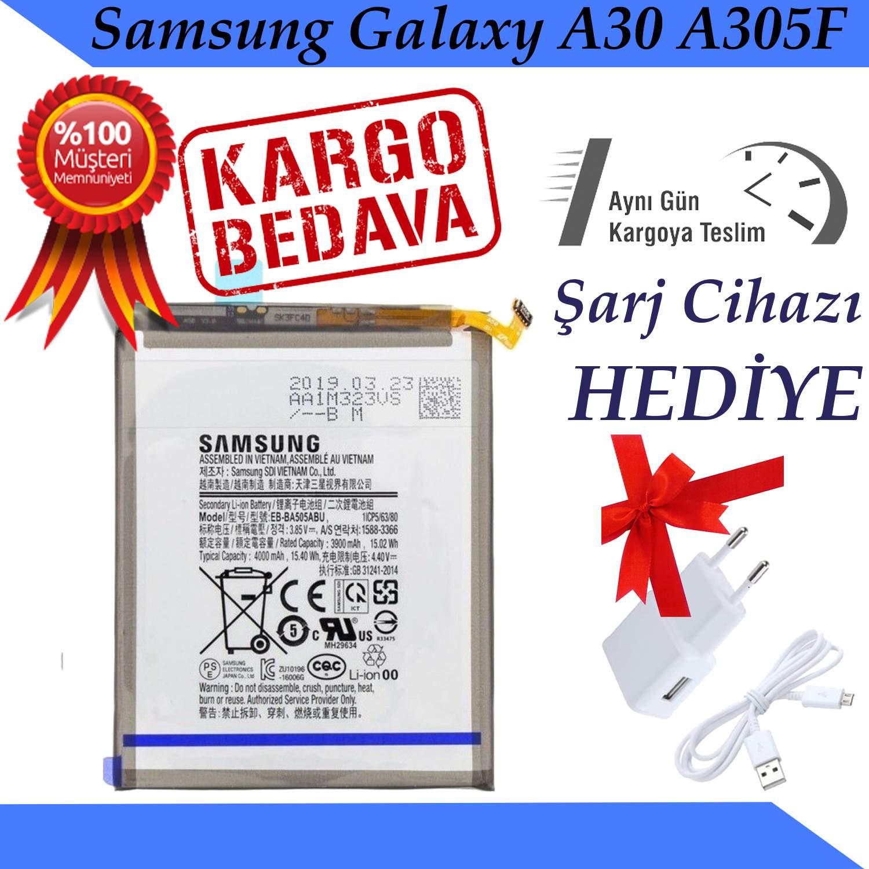 Samsung Galaxy A30 A305F Orjinal Batarya Pil