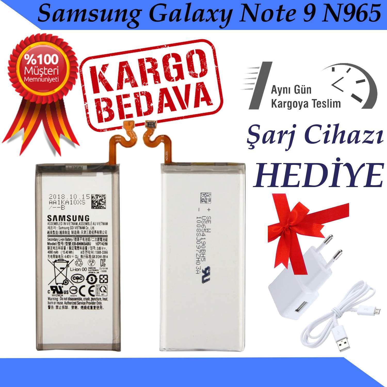 Samsung Galaxy Note 9 N965 Orjinal Batarya Pil