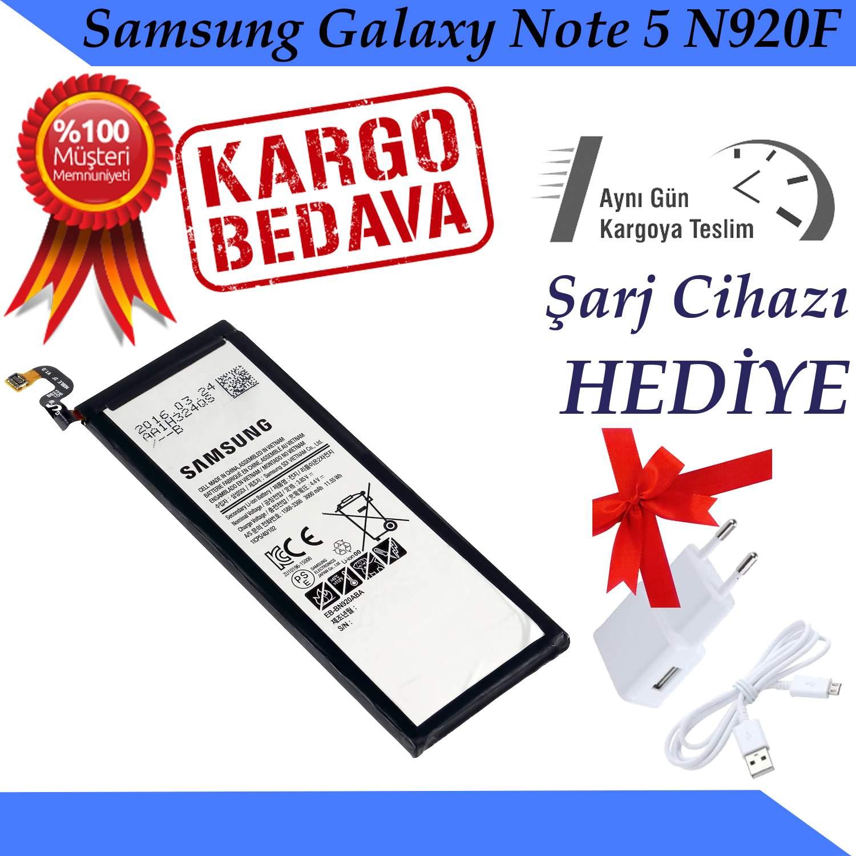 Samsung Galaxy Note 5 N920F Orjinal Batarya Pil