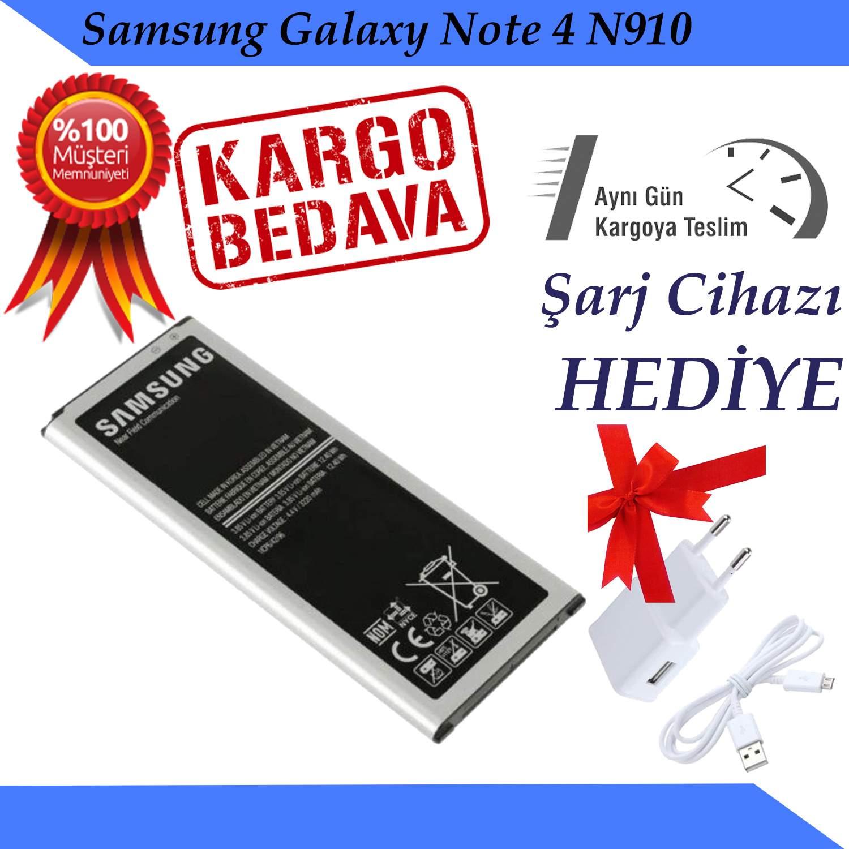 Samsung Galaxy Note 4 N910 Orjinal Batarya Pil