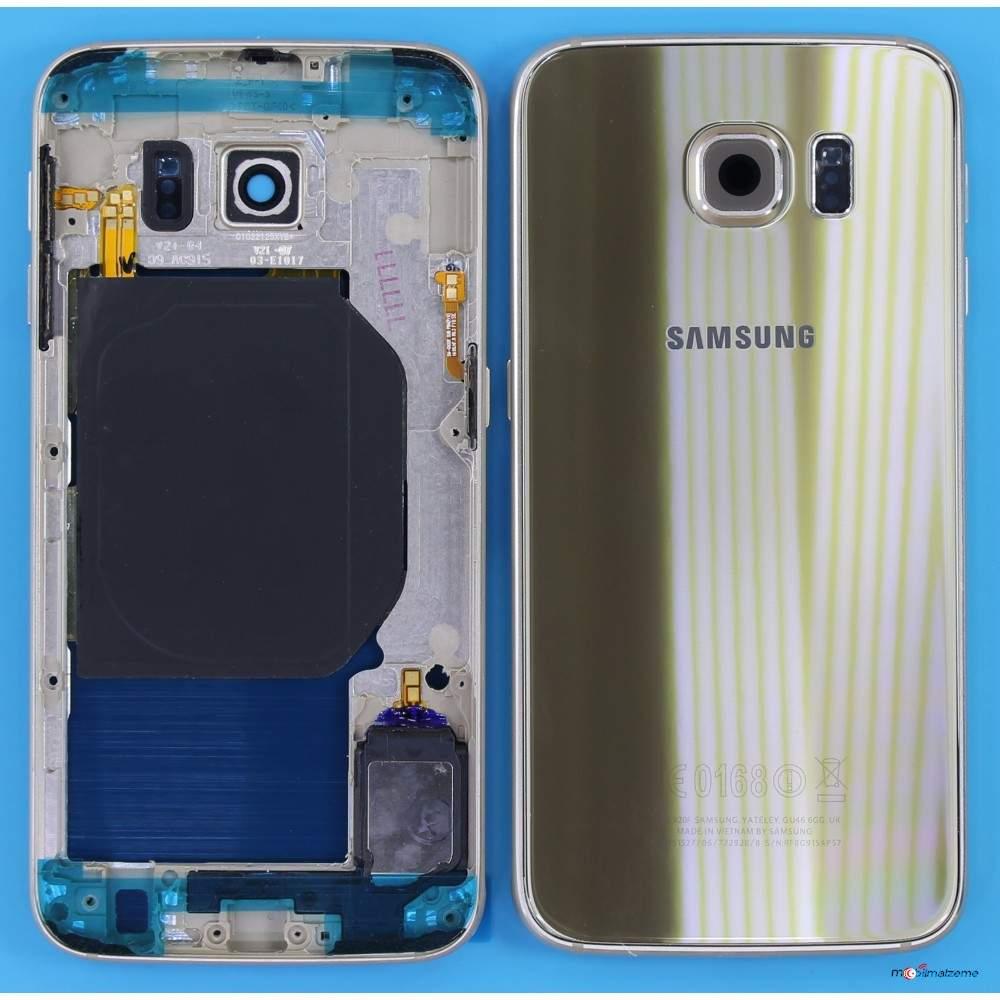 Samsung Galaxy S6 G920F Full Kasa Kapak Tamir Seti