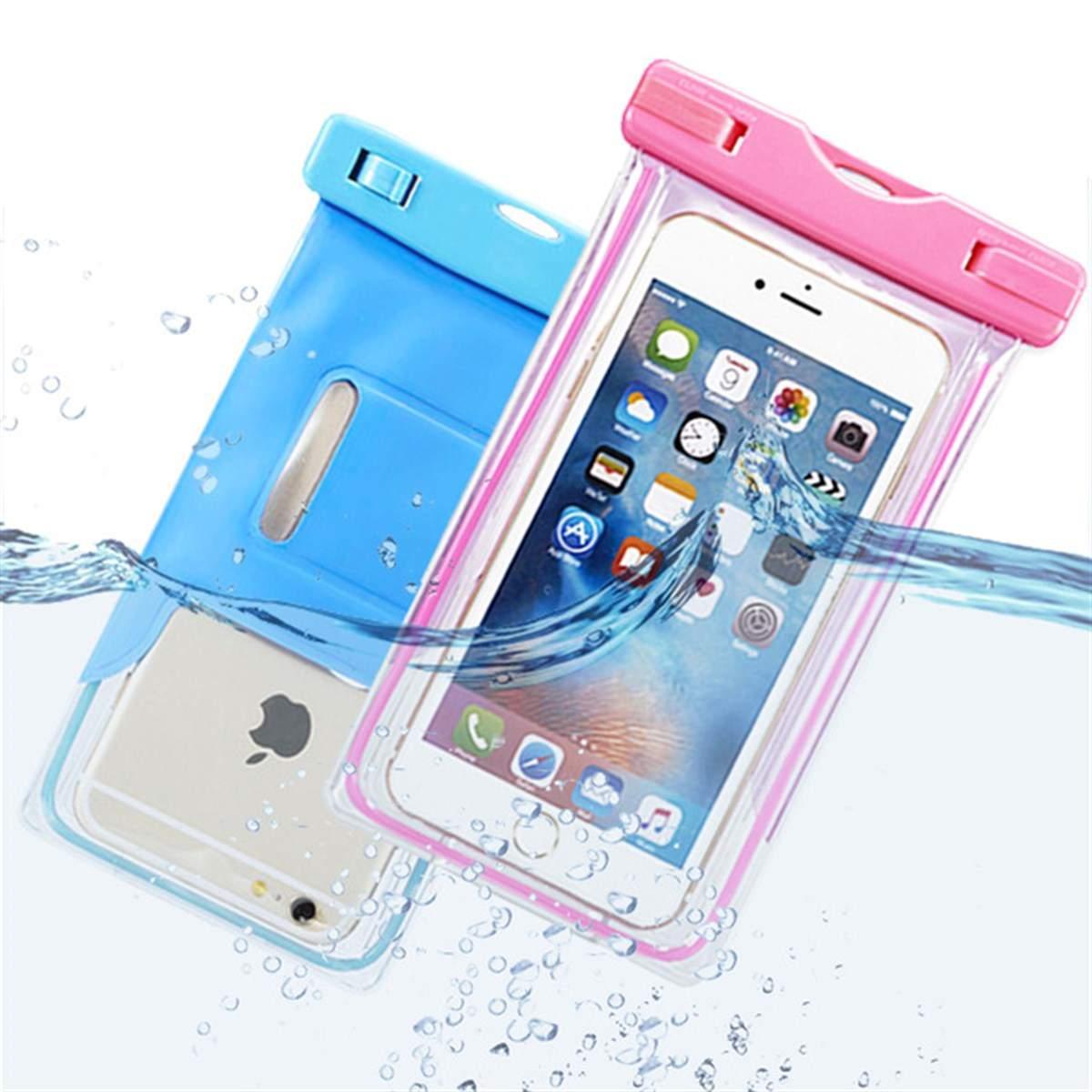 Su Geçirmez Deniz Havuz Kılıfı Askılı Tüm Telefonlarla Uyumlu