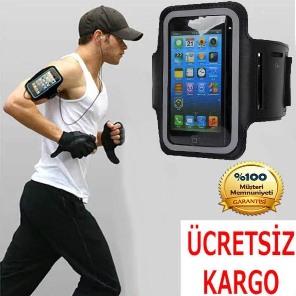 Yürüyüş Spor ve Koşu Kol Bant Telefon Kılıfı Bantlı Çanta Kabı