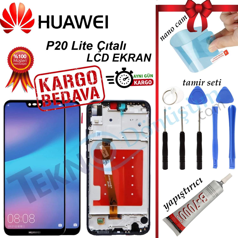 HUAWEI P20 LİTE LCD DOKUNMATİK EKRAN FULL ÇITALI