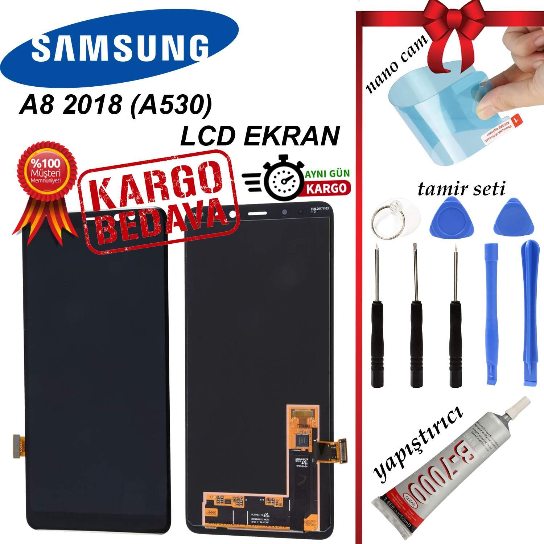 SAMSUNG A8 2018 (A530) LCD DOKUNMATİK EKRAN ORJİNAL REVİZE