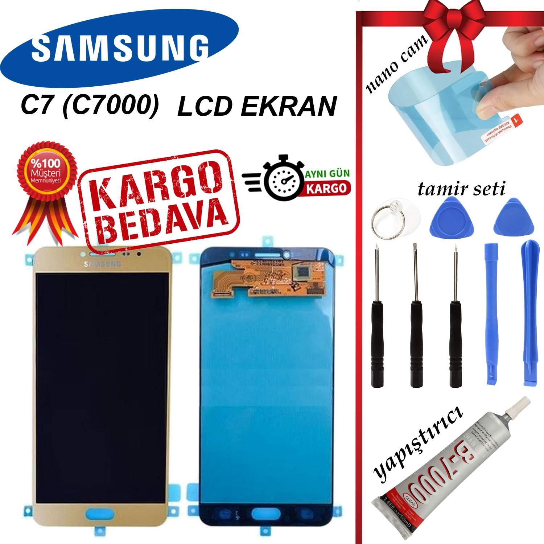 SAMSUNG C7 (C7000) LCD DOKUNMATİK EKRAN ORJİNAL REVİZE