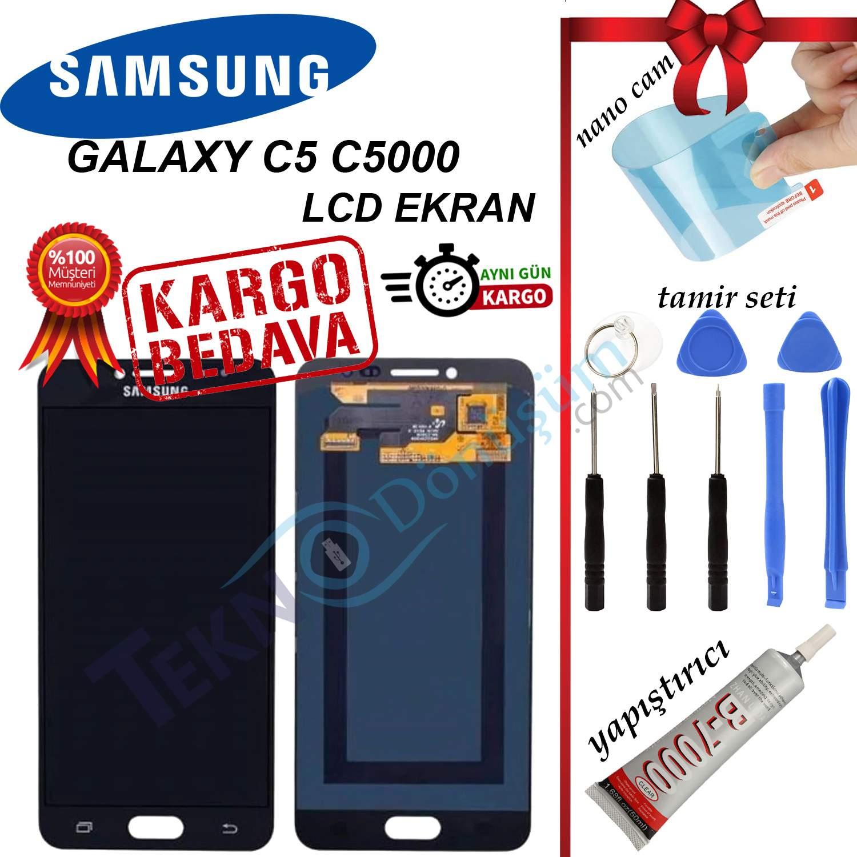 SAMSUNG C5 (C5000) LCD DOKUNMATİK EKRAN ORJİNAL REVİZE