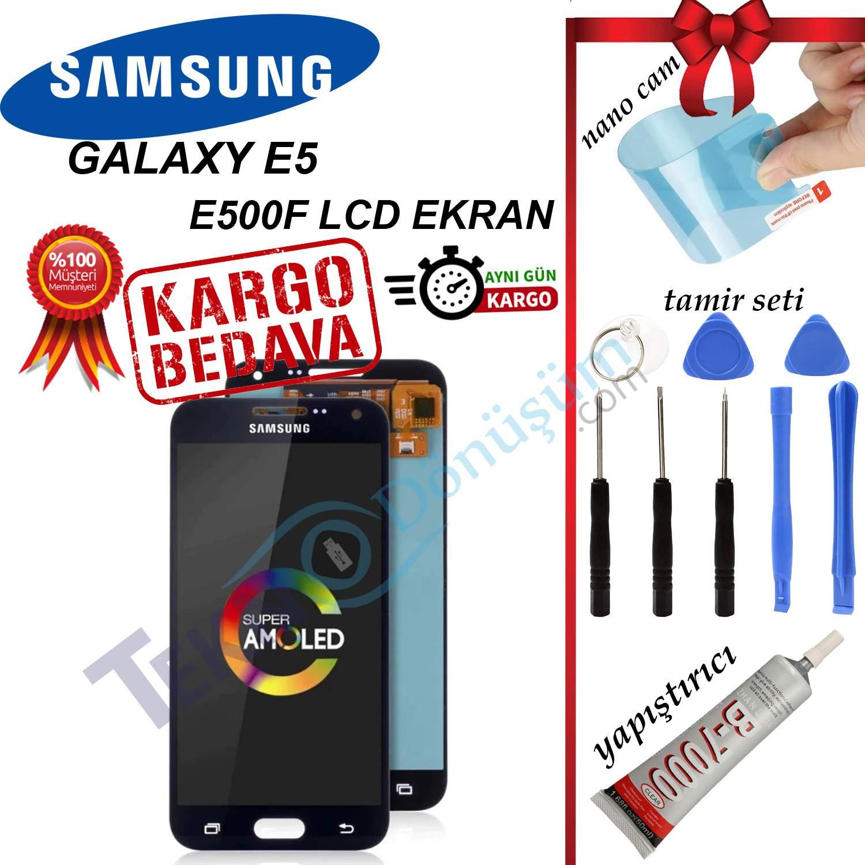 SAMSUNG E5 (E500) LCD DOKUNMATİK EKRAN ORJİNAL REVİZE