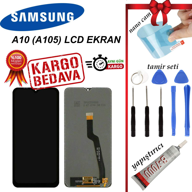 SAMSUNG A10 (A105) LCD DOKUNMATİK EKRAN ORJİNAL SERVİS EKRAN