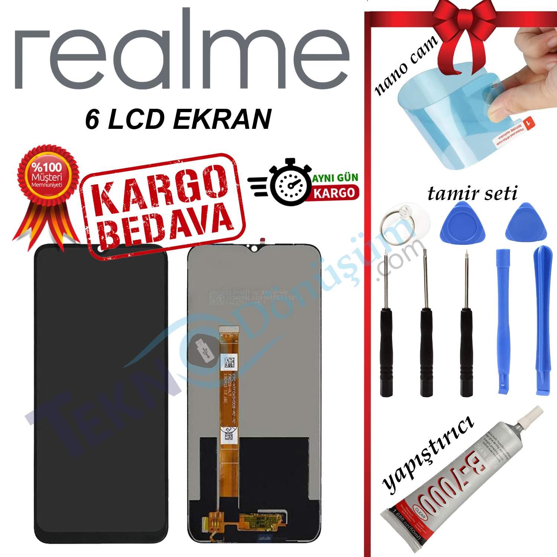 REALME 6 ORJİNAL LCD DOKUNMATİK EKRAN