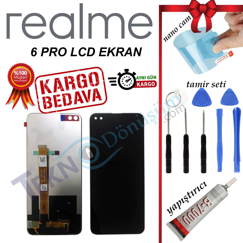 REALME 6 PRO ORJİNAL LCD DOKUNMATİK EKRAN