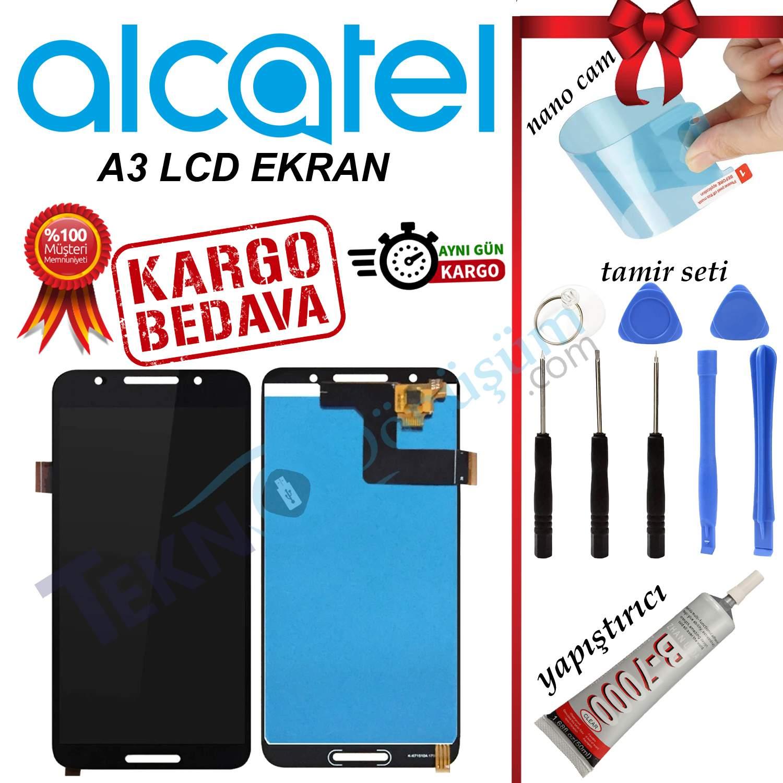 ALCATEL A3 ORJİNAL LCD DOKUNMATİK EKRAN