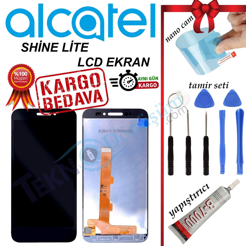 ALCATEL SHİNE LİTE ORJİNAL LCD DOKUNMATİK EKRAN
