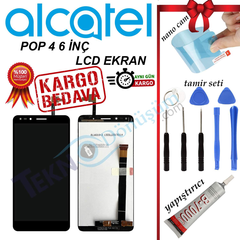 ALCATEL POP 4 6 İNÇ ORJİNAL LCD DOKUNMATİK EKRAN