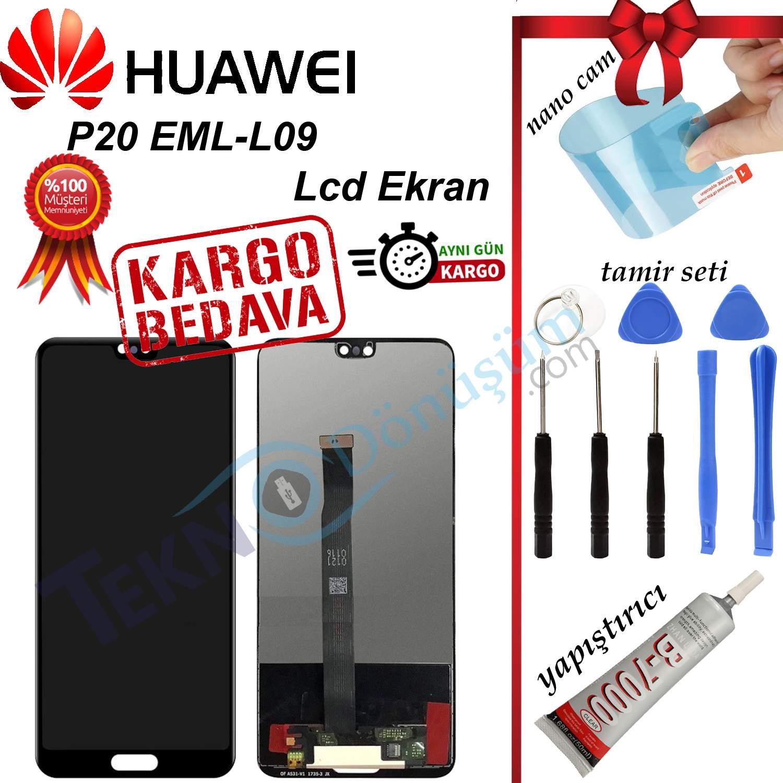 Huawei P20 EML-L09 LCD Ekran ve Dokunmatik