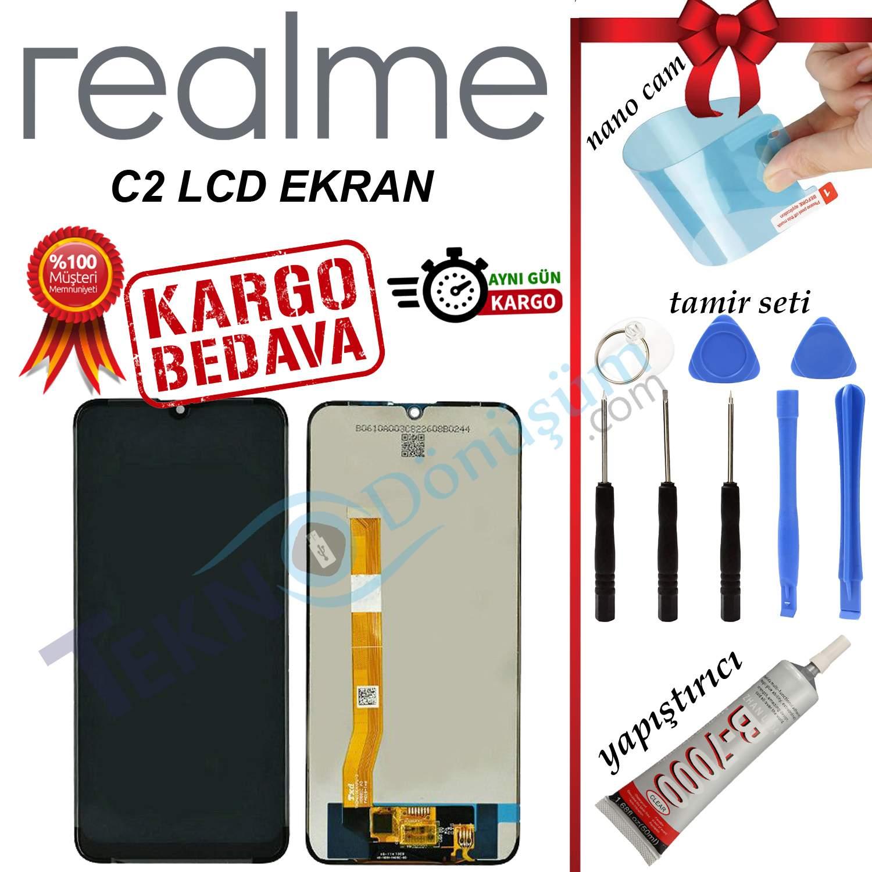 REALME C2 ORJİNAL LCD DOKUNMATİK EKRAN