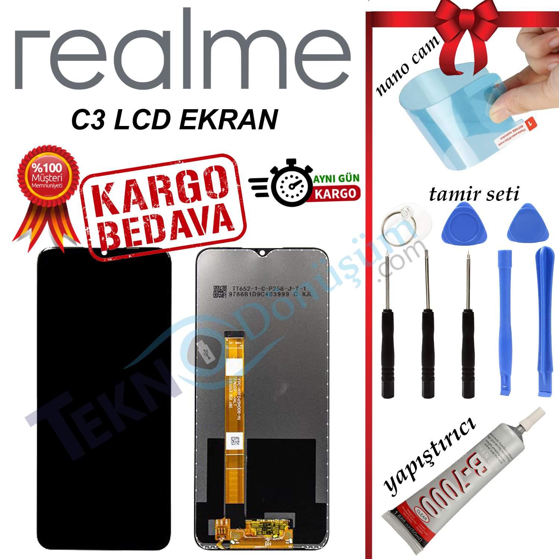 REALME C3 ORJİNAL LCD DOKUNMATİK EKRAN