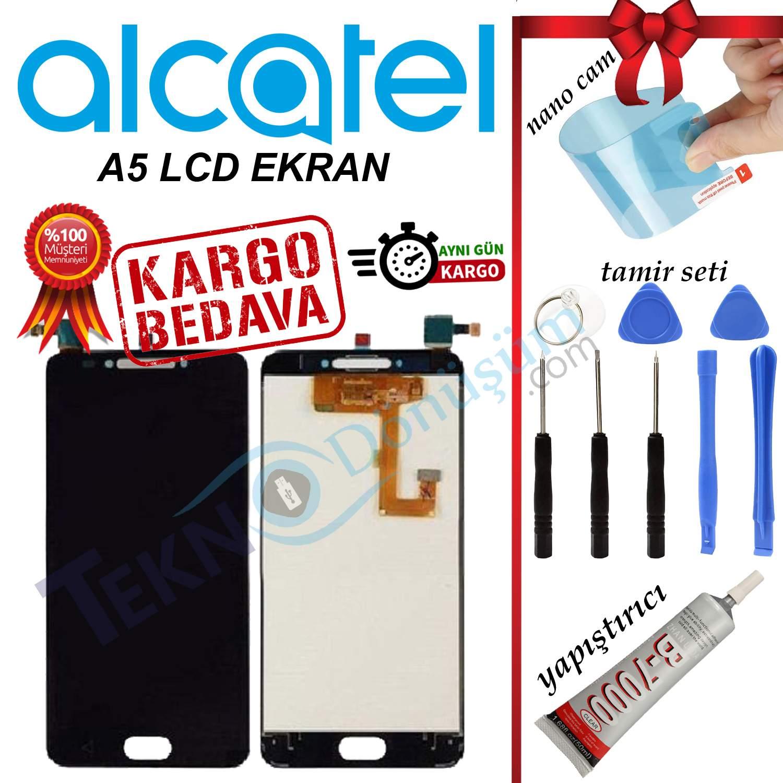 ALCATEL A5 ORJİNAL LCD DOKUNMATİK EKRAN