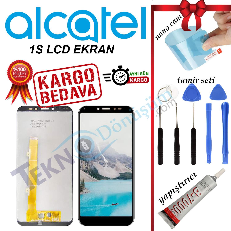 ALCATEL 1S ORJİNAL LCD DOKUNMATİK EKRAN