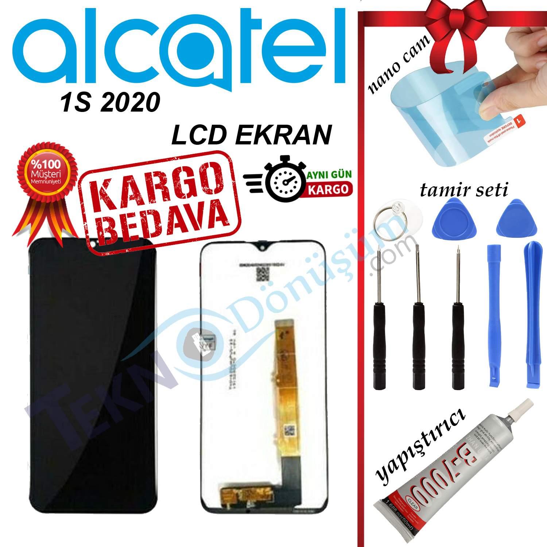 ALCATEL 1S 2020 ORJİNAL LCD DOKUNMATİK EKRAN