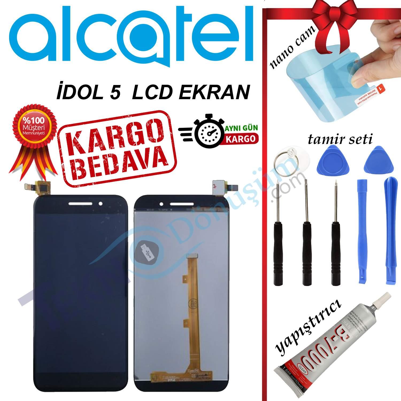 ALCATEL İDOL 5 ORJİNAL LCD DOKUNMATİK EKRAN