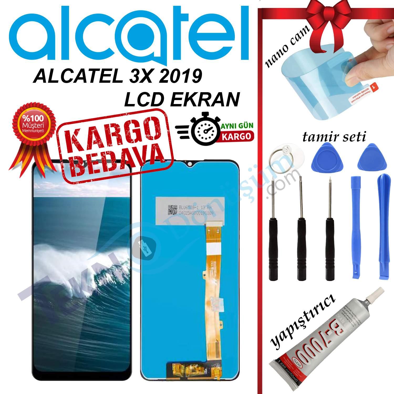 ALCATEL 3X 2019 ORJİNAL LCD DOKUNMATİK EKRAN