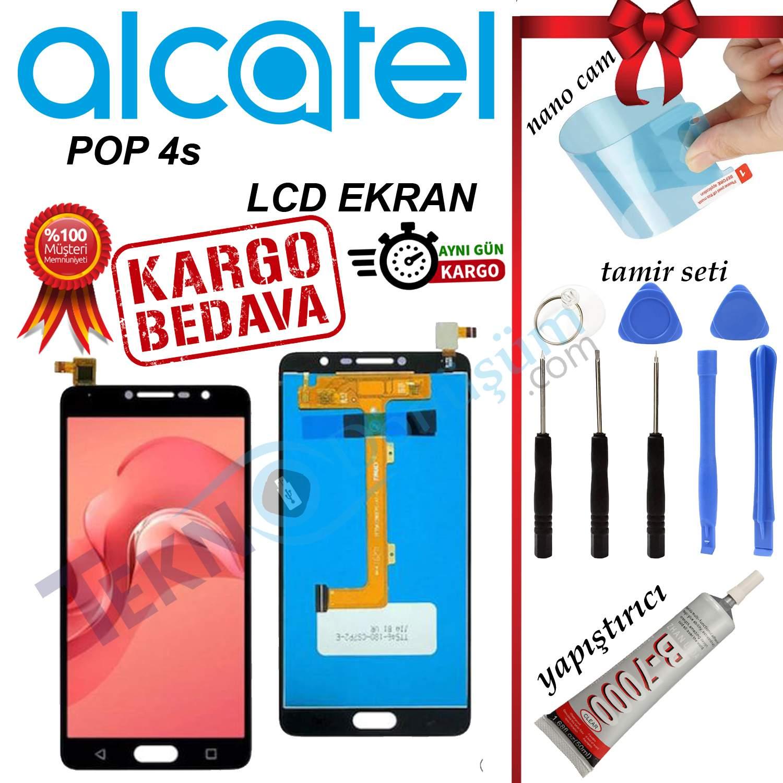 ALCATEL POP 4S ORJİNAL LCD DOKUNMATİK EKRAN